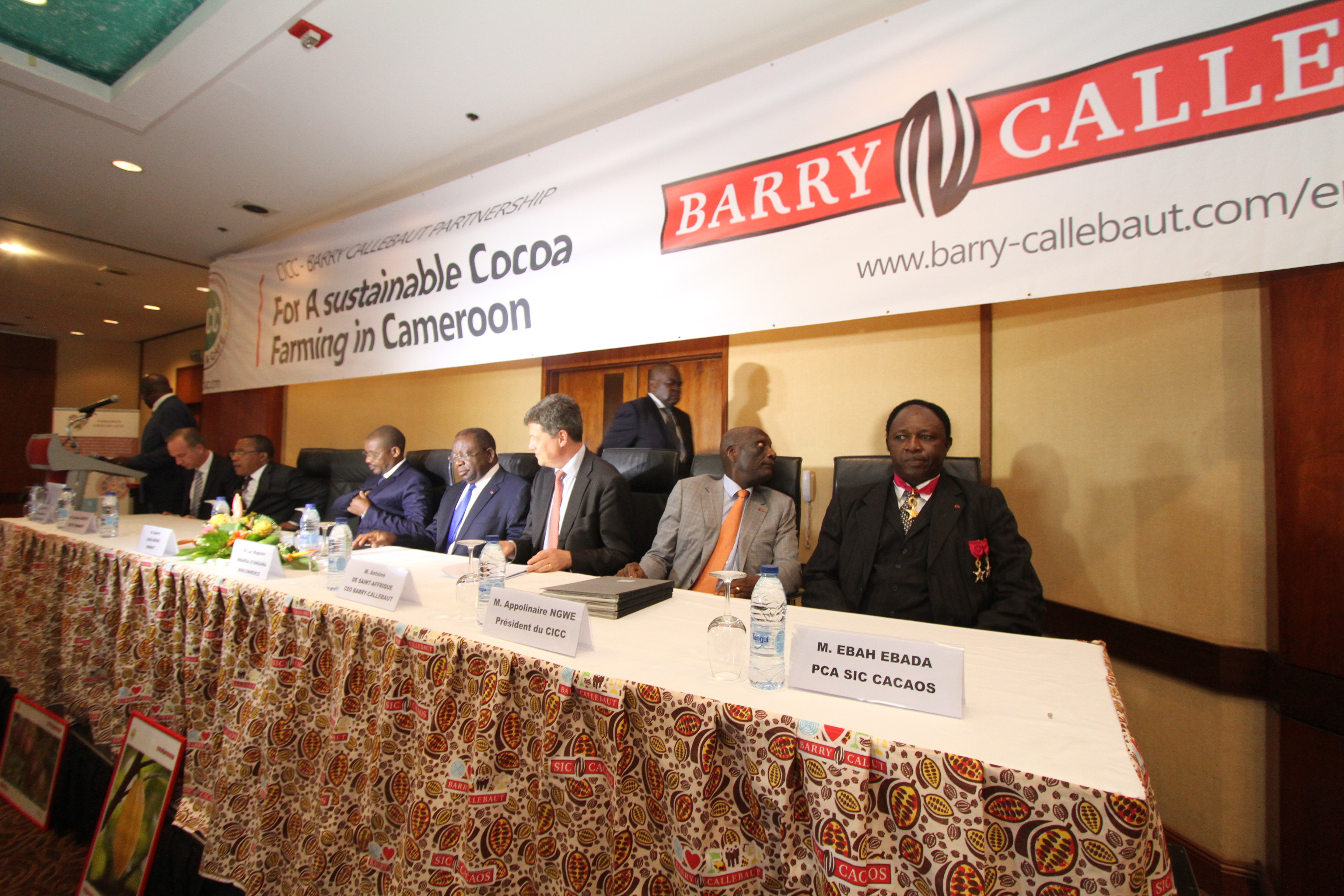 Barry Callebaut And Cameroon Intensify Collaboration