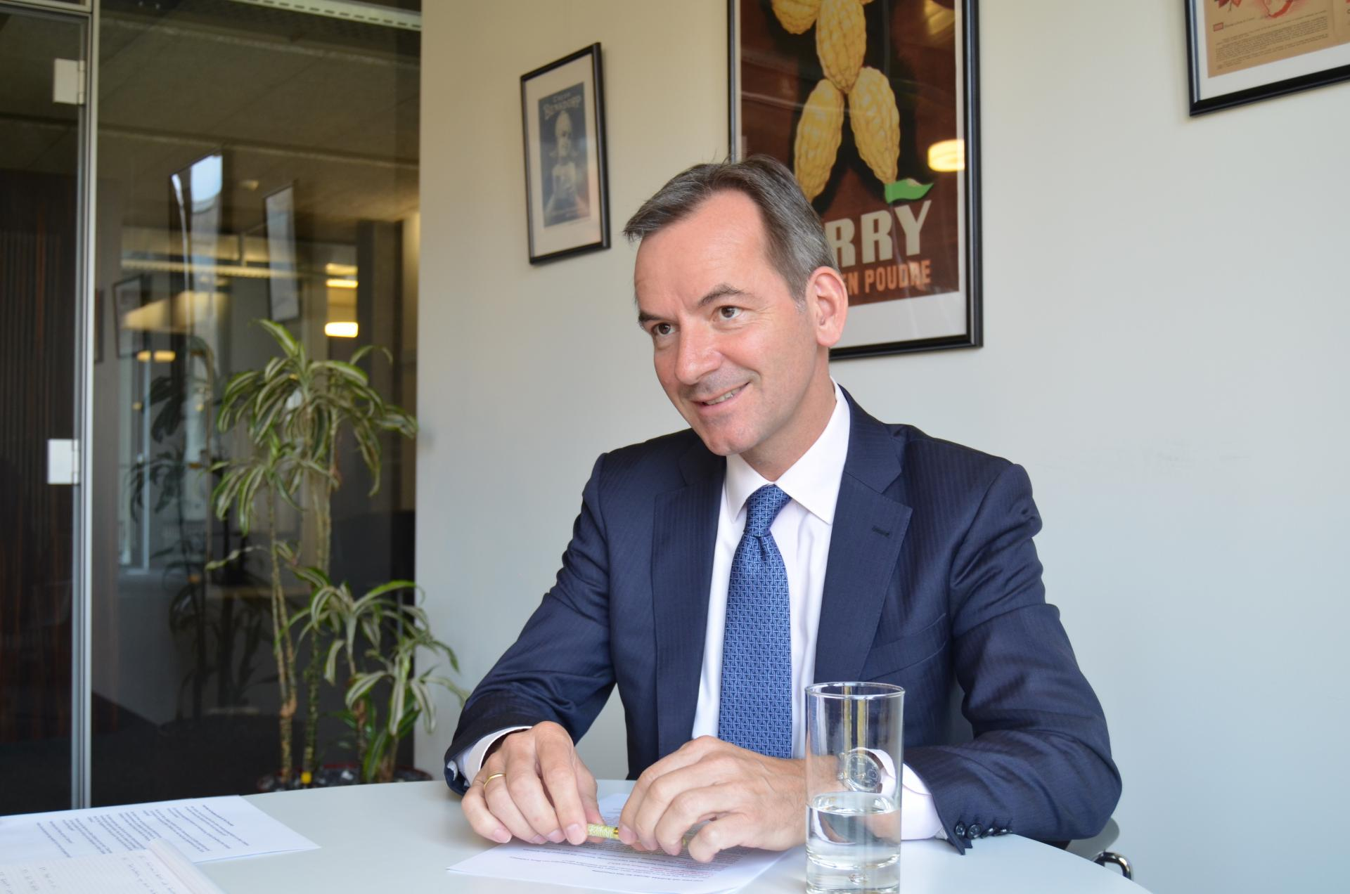 Dr. Andreas Jacobs, Chairman Barry Callebaut AG