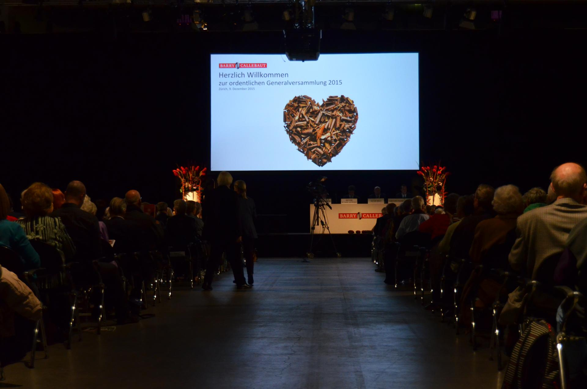 Barry Callebaut Annual General Meeting December 2015