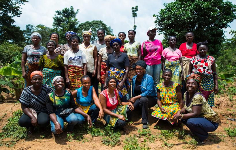 African women farmers - Cocoa Horizons is part of the Forever Chocolate movement by driving change in the cocoa sector