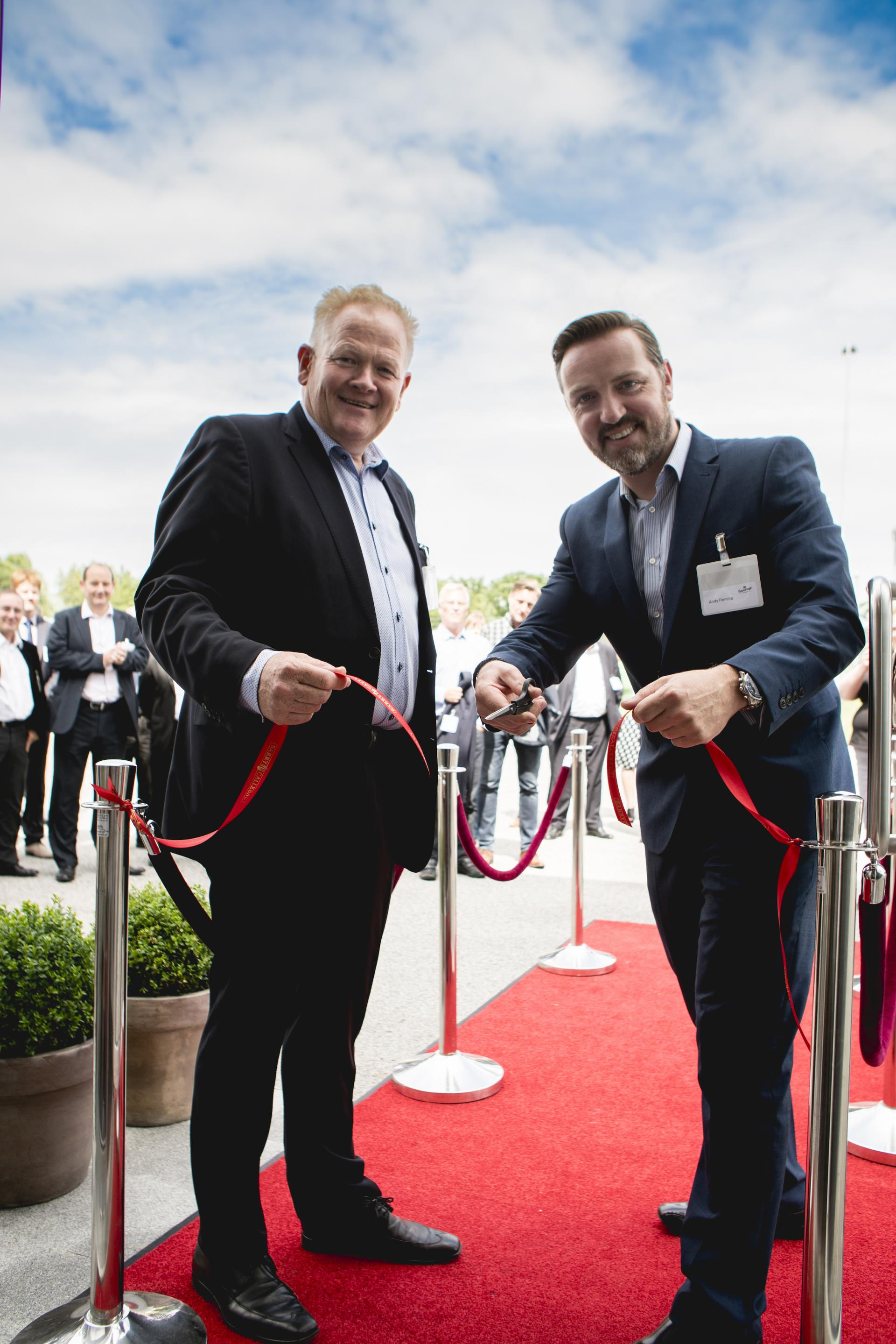 Barry Callebaut Beverages Academy Sweden - Ribbon cutting