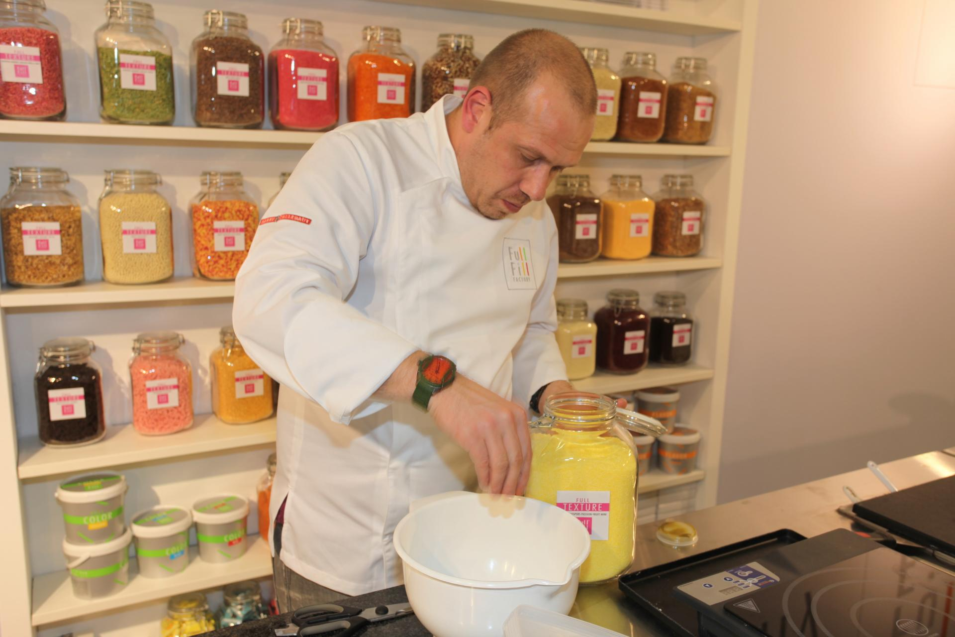 Jurgen Koens, Chef at Barry Callebaut's iLab in Zundert (NL)