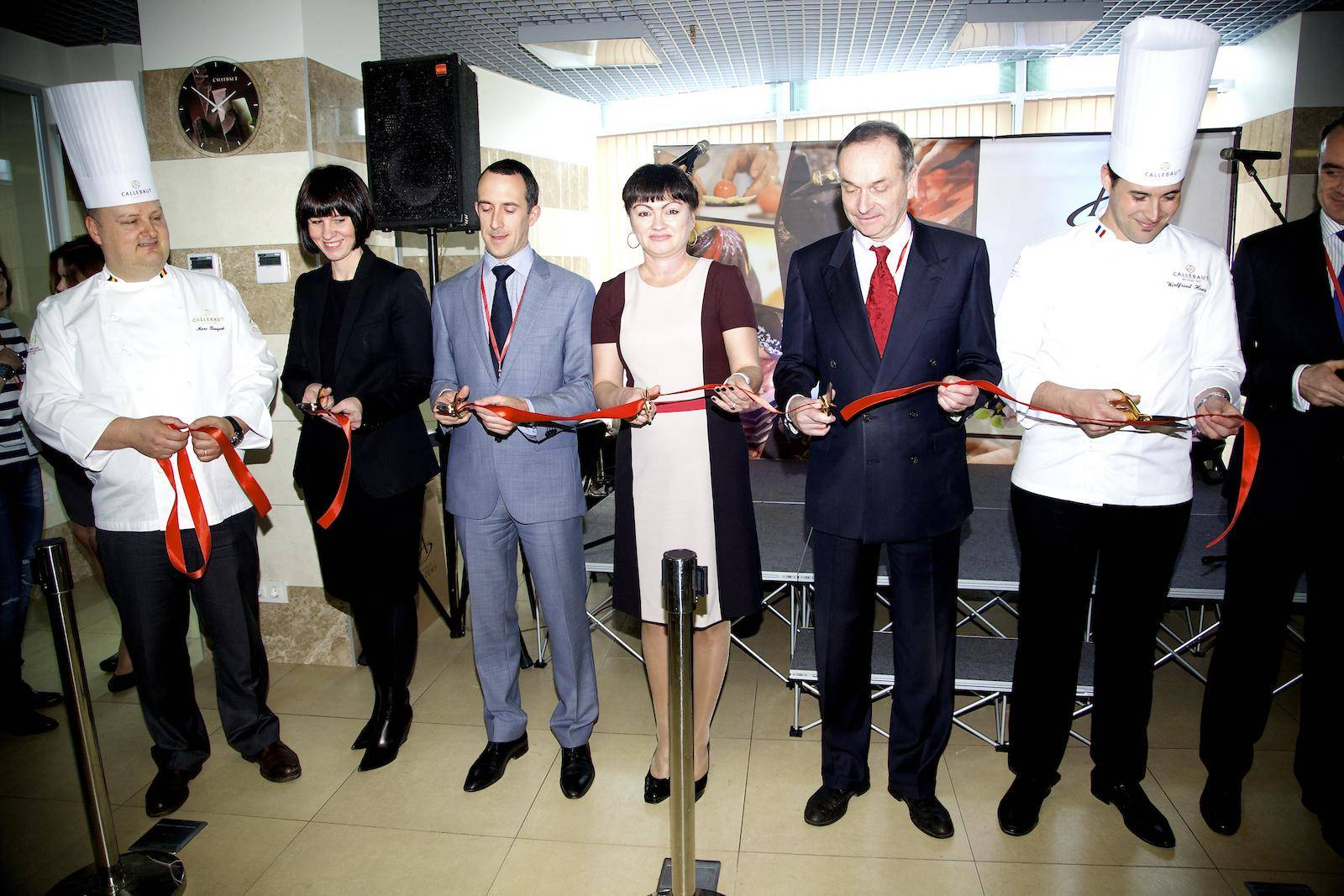 opening ceremony chocolate academy center Moscow