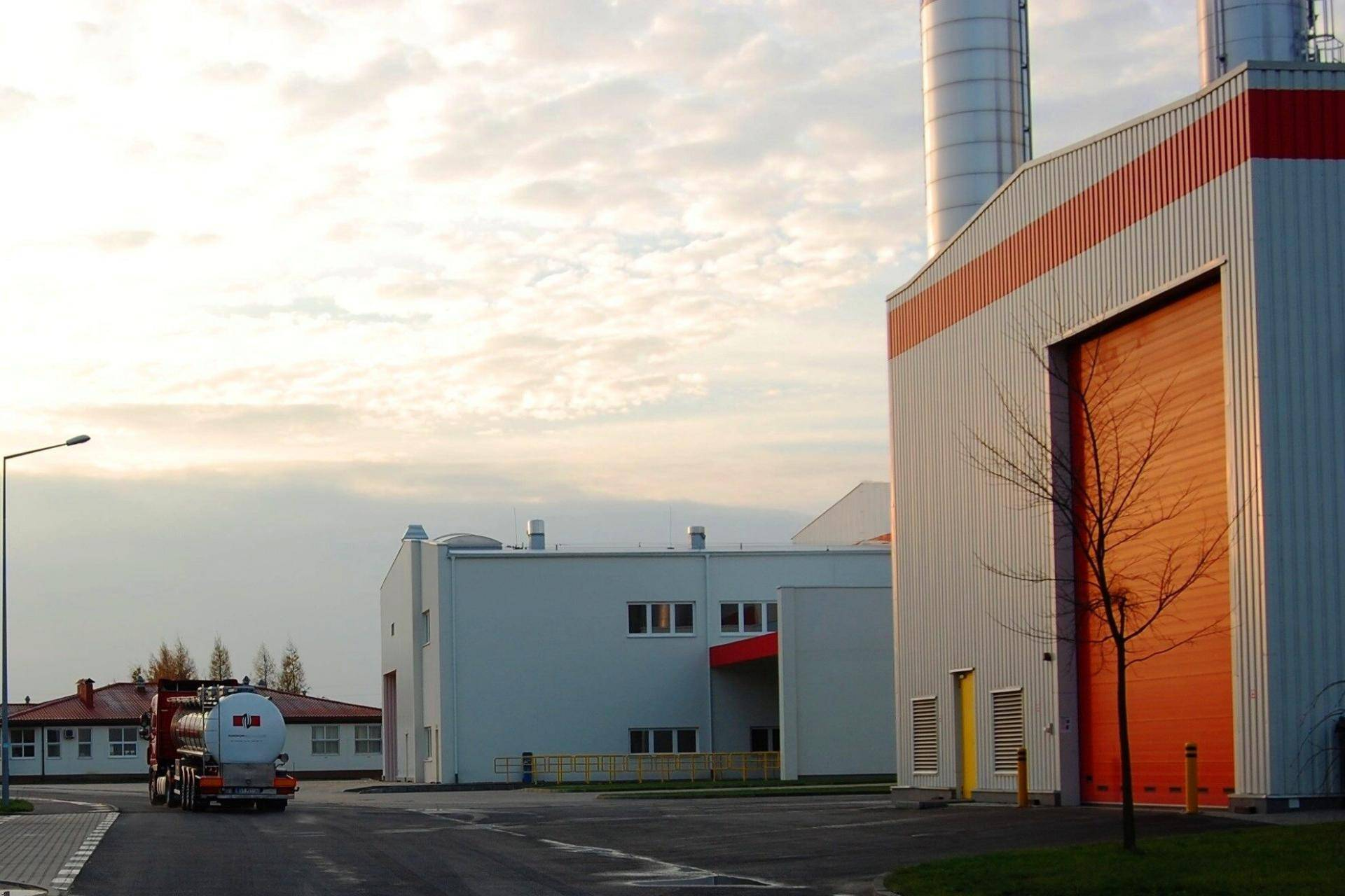 Barry Callebaut chocolate plant in Lodz