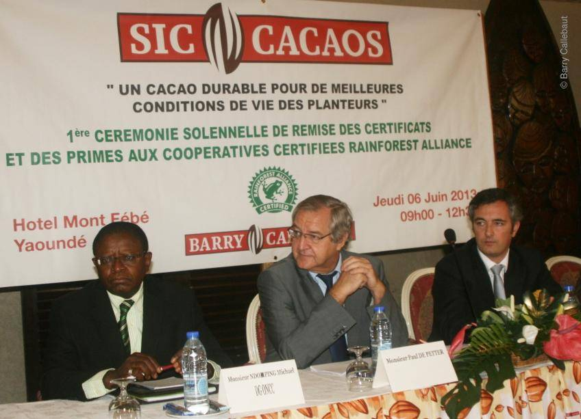 Barry Callebaut initiates largest sustainable cocoa program in collaboration with Rainforest Alliance in Cameroon