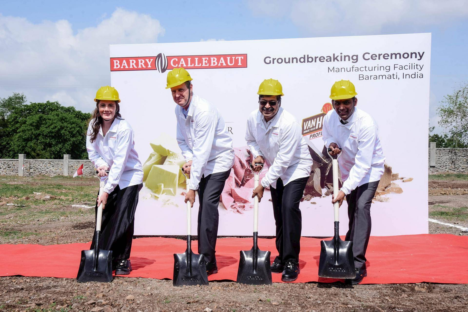Barry Callebaut announces groundbreaking factory in India