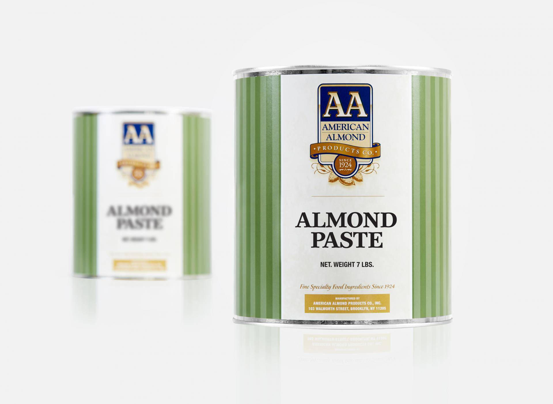 Almond paste can