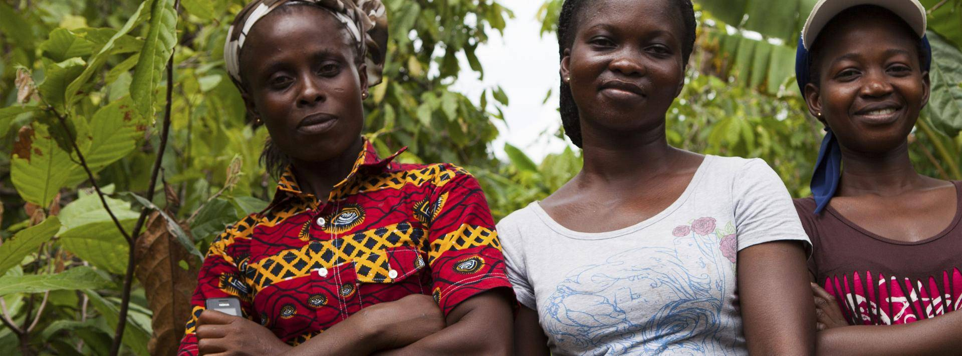Empowering women cocoa farmers