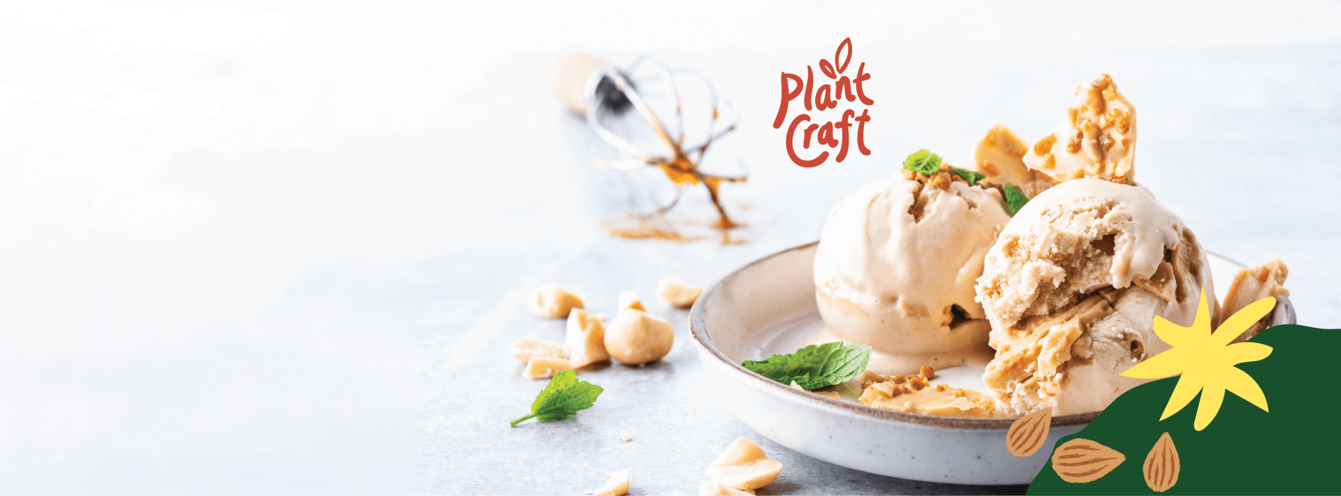 Plant Craft Ice cream - Vegan