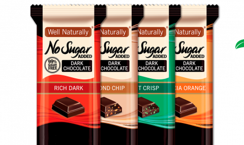 well naturally chocolate no added sugar