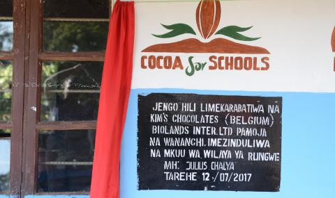 Kim's Chocolates is bringing education to 65,000 children in Tanzania