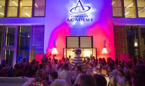 Chocolate Academy Milan inauguration