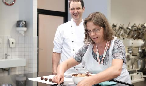 Chairman's Award 2018 workshop at the Chocolate Academy
