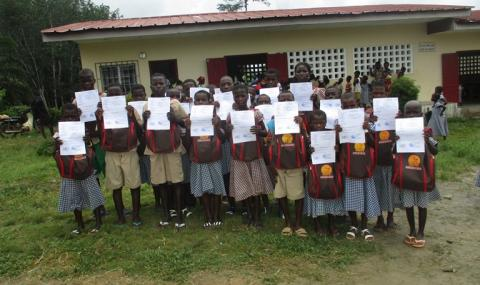 Children with Birth Certificates in Côte d'Ivoire