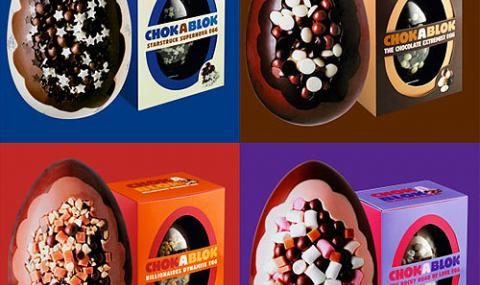 CHOKABLOK easter eggs