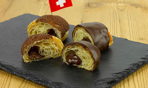 Swiss chocolate pastry