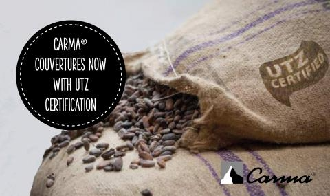 Carma® sustainable cocoa under UTZ certification