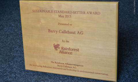 Rainforest Alliance Award