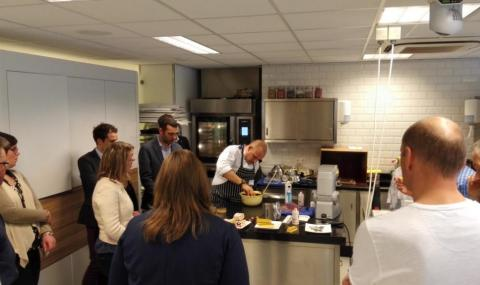 Inspiration Day at iLab, Barry Callebaut's Chocolate Academy center in Zundert (NL)