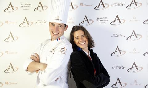Opening of CHOCOLATE ACADEMY™ center in Moscow, the chefs