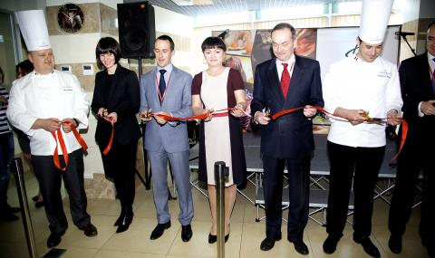 Opening ceremony of CHOCOLATE ACADEMY™ center in Moscow, Chocolate Artwork