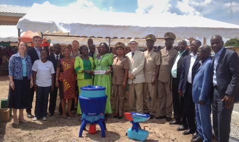 Official launch of Barry Callebauts clean water campaign