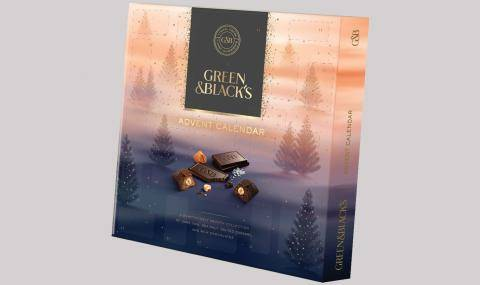 Green and Blacks advent calendar