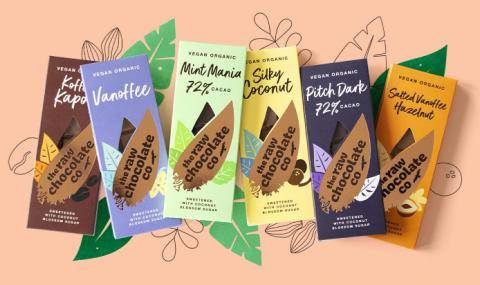 organic raw chocolate co bars - confectionery