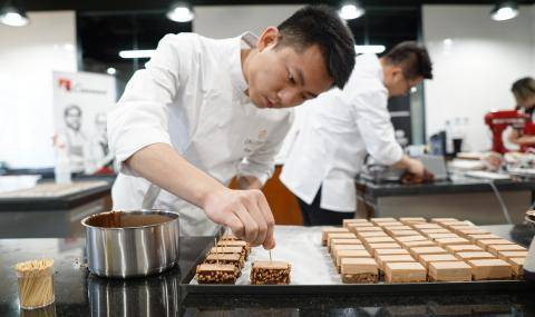 Chef at Barry Callebaut Chocolate Academy