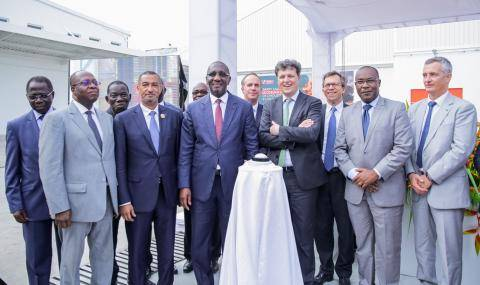 Inauguration new processing unit Barry Callebaut Abidjan