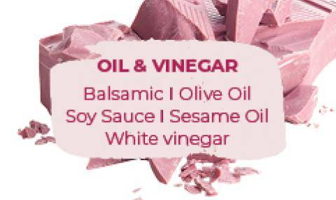 Ruby Pairings: Oil & Vinegar