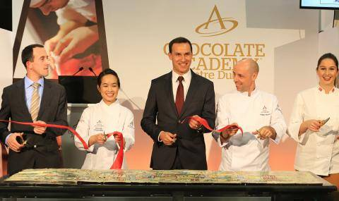 Chocolate Academy Center Dubai - Opening ceremony