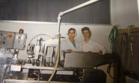 The old Production line of D'Orsogna