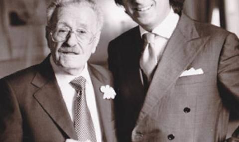 Founder, Mario D'Orsogna and his son Valerio D'Orsogna.