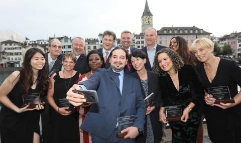 Barry Callebaut Chairman's Award Winners 2018 Selfie