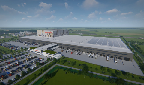 Barry Callebaut further anchors its activities in Belgium by building a new Global Distribution Center in Lokeren