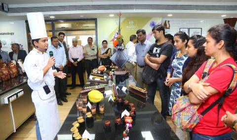 Opening ceremony of relocated Callebaut® CHOCOLATE ACADEMY™ center in Mumbai