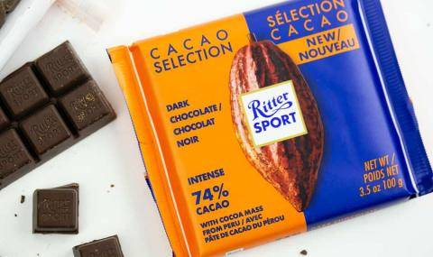 Ritter Sport launched a single origin range, specific flavor as the main characteristic