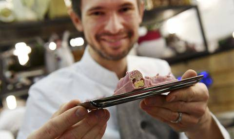 Joel Perriard, Chef Chocolatier. A heart for Swiss Chocolate and authentic chocolate experiences