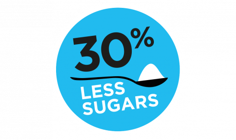 Less sugars