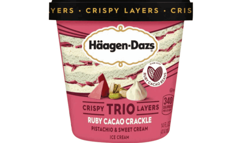Haagen Dazs Ruby Cacao Crackle