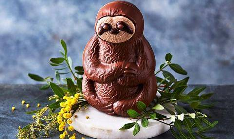 Marks & Spencer Seth the Sloth Easter Egg - Easter classic with a twist