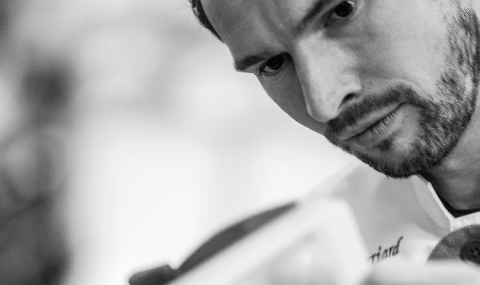 Joël Perriard, chef chocolatier at work