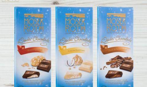 Moser Roth Winter Chocolate Range