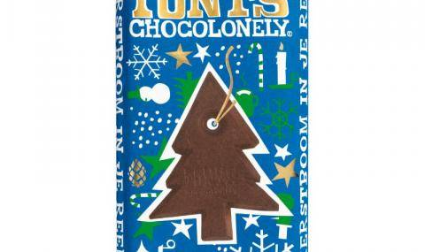 Tony's Chocolonely Dark Chocolate Mint Candy Cane