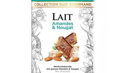 Villars Milk Chocolate with Almonds and Nougat