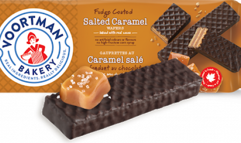 Voortman Bakery salted caramel wafers