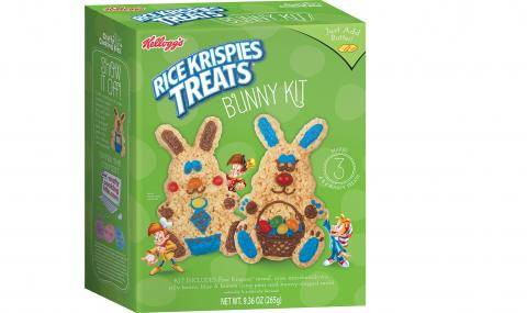 Kellogg's Bunny Kit (US) that includes all decorations & icing