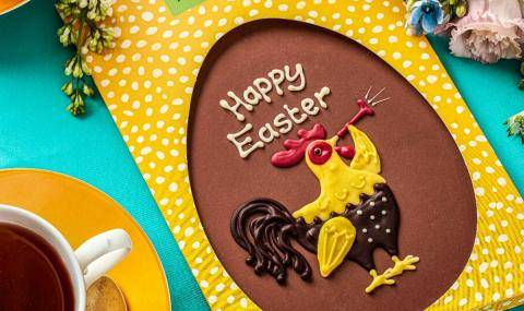 Fortnum & Mason (UK) - Happy Easter plaque to deliver in the mailbox