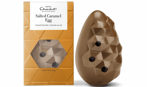 Salted Caramel Big Chocolate Egg by Hotel Chocolat